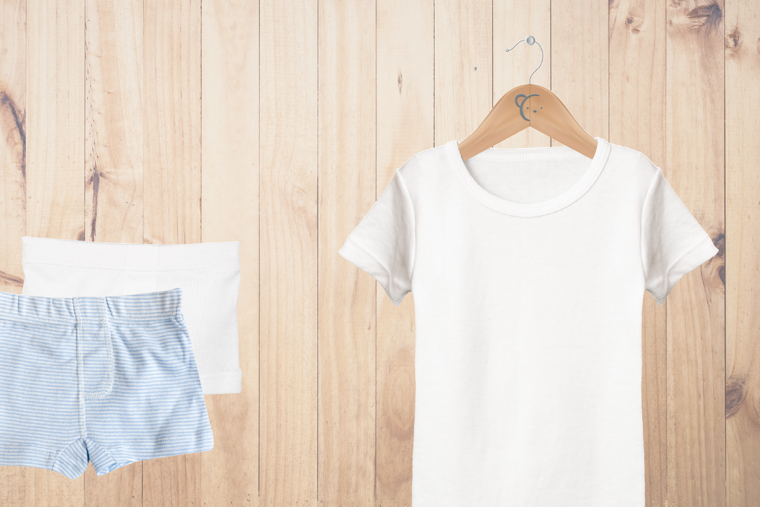 ropa interior para niños