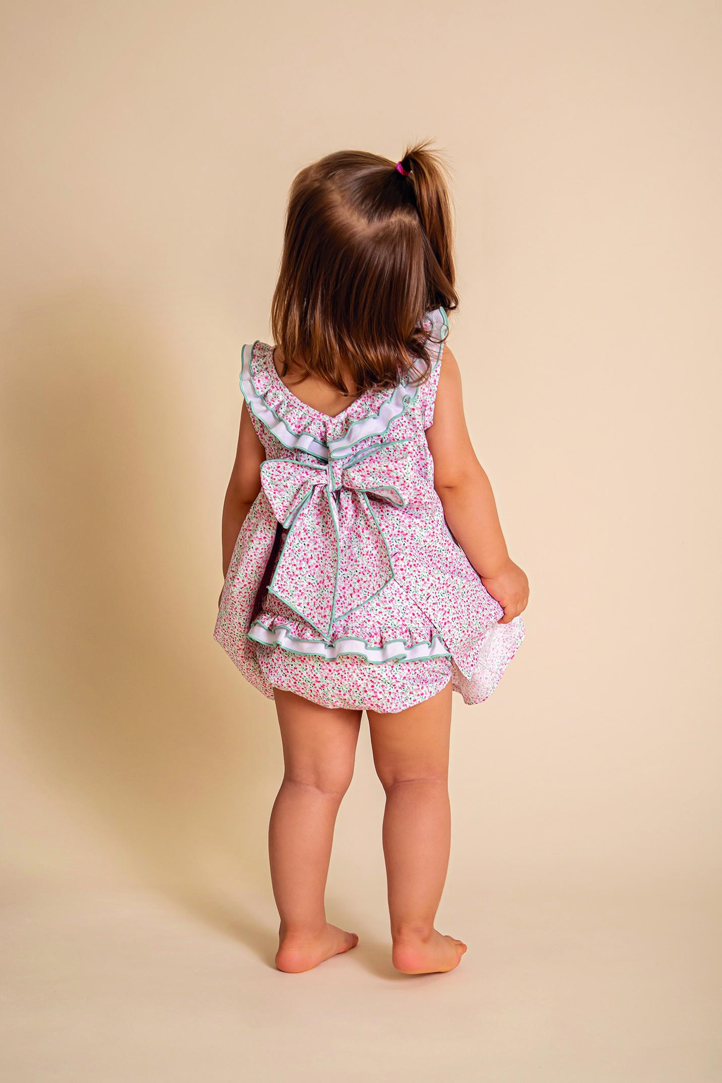 Nuevo vestido Itafy ropa para bebé