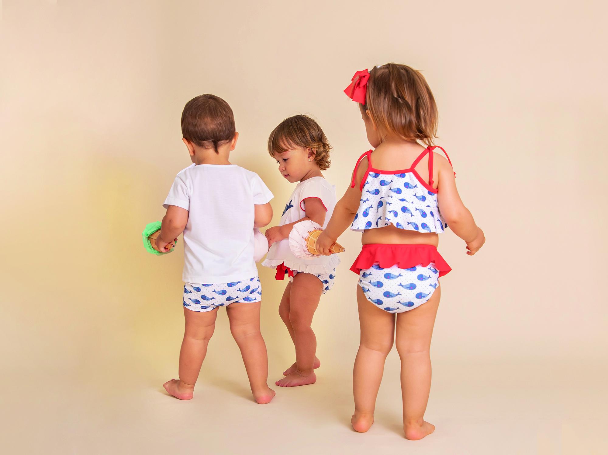 nuevo bañadores ropa de baño para bebés