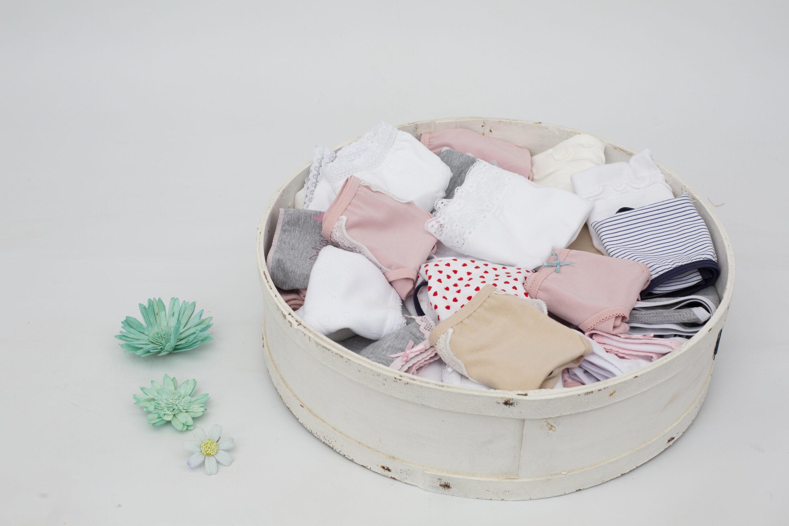 Delicata, ropa interior para niñas